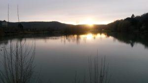 Caillac-coucher-de-soleil-sur-le-lac
