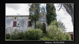 cieurac ancienne église