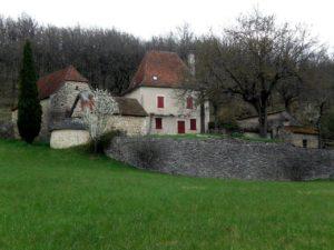 Cajarc maison Pompidou
