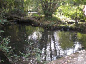 Cras rivière la Rauze