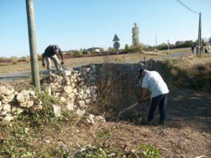 labastide marnhac fondation mur de pierre