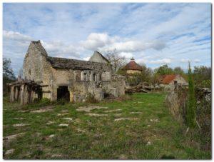 Varaire hameau abandonné
