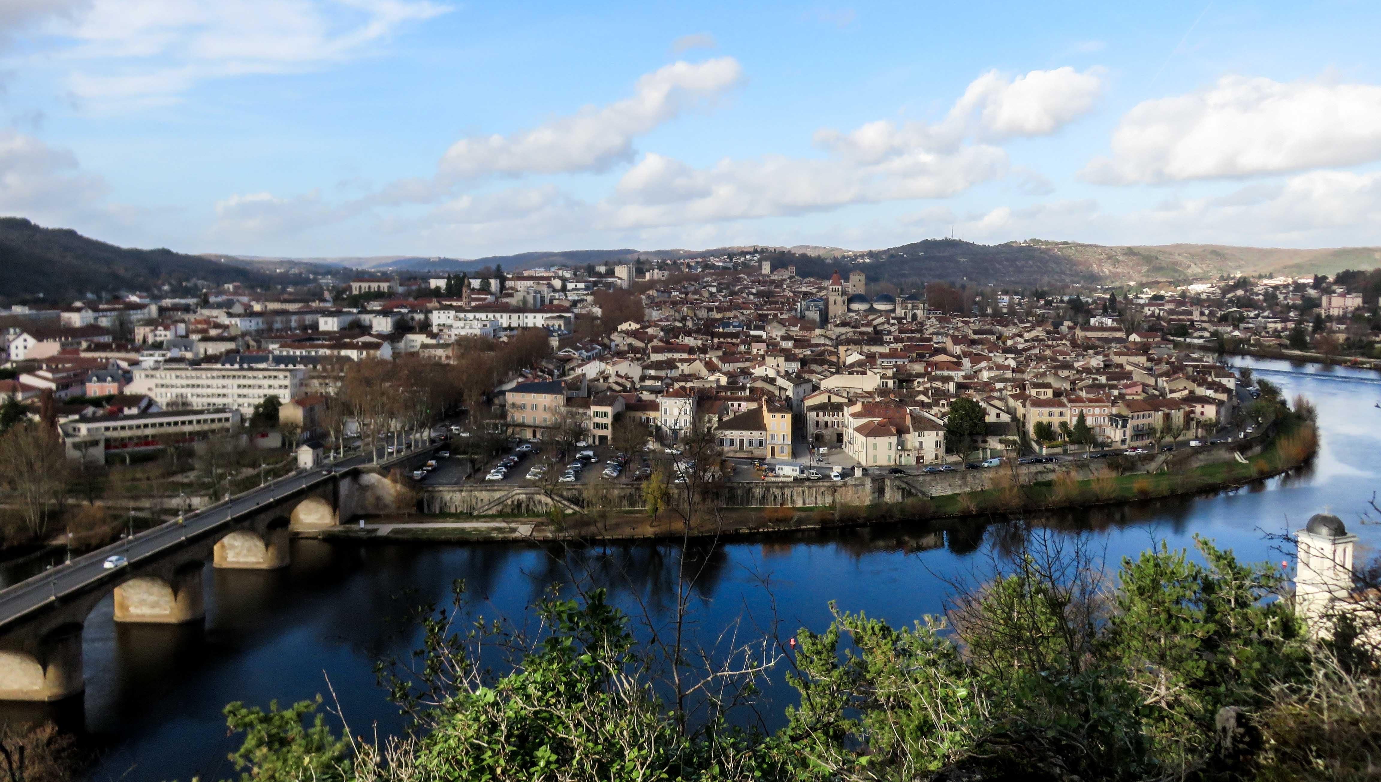St Cyr vue sur Cahors