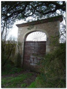 Pradines portail
