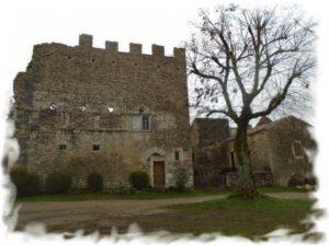 aujols ruine chateau