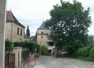 Thédirac village