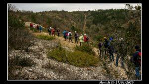 mont St Cir randonneurs