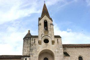 Bagat en Quercy église