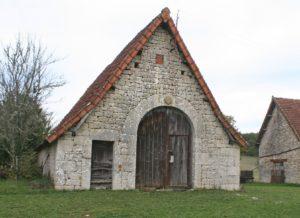 Saint Cernin porte de grange