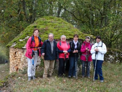 rando occitane -puy-l'eveque-groupe