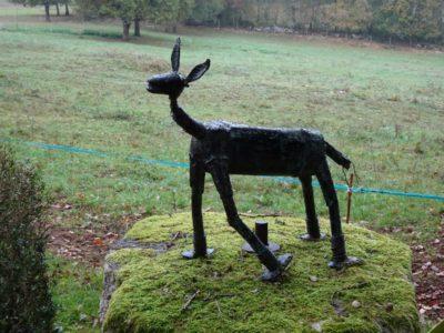 rando occitane-sculpture-biche